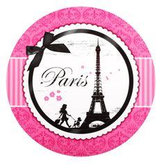 Paris Damask Round Activity Placemats, 86299