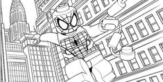 Lego Spiderman In The City Coloring Pages See the category to find more printable coloring sheets. Also, you could use the search box to find what you. Avengers Coloring Pages, Superhero Coloring Pages, Spiderman Coloring, Lego Coloring Pages, Birthday Coloring Pages, Marvel Coloring, Cat Coloring Page, Coloring Pages For Boys, Coloring Pages To Print