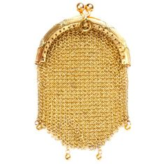 Solid gold change purse is a precious collectible