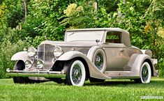 1933 Packard Twelve Convertible Coupe | Car Pictures
