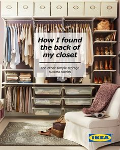 #IKEAStorageGuide- This needs to be my exact main closet remodel!