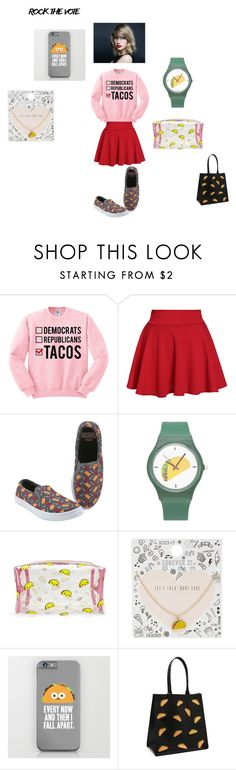 """""""tacos"""" by saran71 ❤ liked on Polyvore featuring Forever 21"""