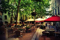 Terrace Cafés in Montpellier | Deviant Art