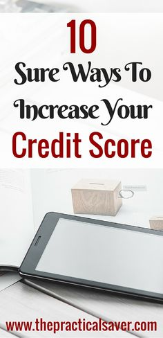 Want to increase credit score of yours? If you think increasing your credit score may be hard, you should think again and again.There are ways you can use to improve it in no time. You just need to be proactive and not just sit down and wait for things to get better. #creditscore #credit #ways