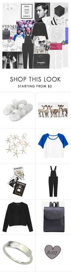 """""""-- laid low by heartbreak"""" by feels-like-snow-in-september ❤ liked on Polyvore featuring Muji, Monki, Assouline Publishing, Chanel, melsunicorns and gottatagrandomn3ss"""