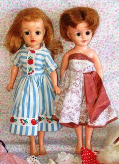 Pareja de muñecas americanas tipo Madame Alexandre.