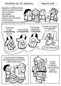 El Rincón de las Melli: HISTORIETA: La parábola de los talentos (texto adaptado)