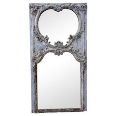Check out this item at One Kings Lane! Antique French Painted Mirror