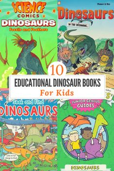 10 Educational Dinosaur Book Gifts for Kids – crafts & activities PERFECT for any occasion #educationaldinosaurbooks #dinosaurbooks #dinosauractivitybook #forkids #bookoutletca