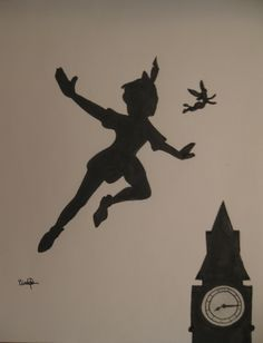 Peter Pan....First boy I have will be getting a Peter Pan room. :) Just saying..