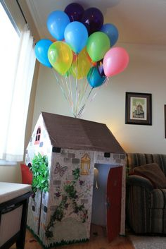 Up! Themed Birthday party with crafts, activity book favors and more!