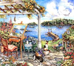 Water View by Kim Jacobs