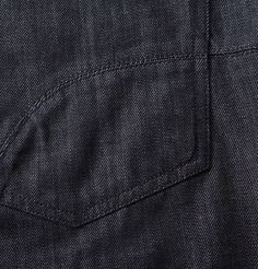 Shop the Gulliva Dark Blue straight leg jeans in sizes to - our take on the timeless men's five pocket mid-rise jean. Trouser Jeans, Trousers, Dark Blue, Legs, Detail, Shopping, Collection, Trouser Pants