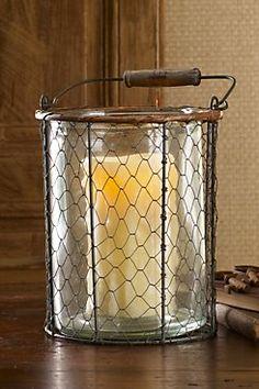 TOSCANA WIRE CANDLE HOLDERS from Soft Surroundings
