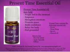 present time essential oil - Google Search