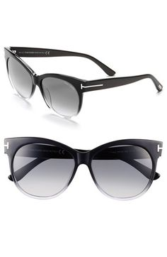 Tom Ford 'Saskia' 57mm Sunglasses available at #Nordstrom