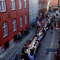 Had such a good time yesterday night at the #copenhagencooking streetdinner ❤️