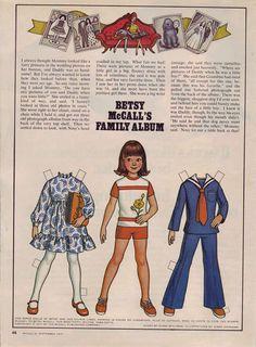 Betsy McCall's family album...September 1977