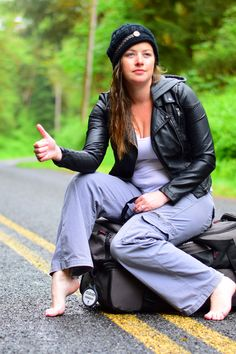 I'm a hitchhiker. A female one, to be exact. And I'm about to tell you why all of your perceptions about hitchhiking are just plain wrong. Click through.