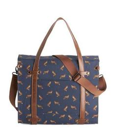 Camp Director Tote in Foxes, $59.99.