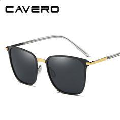 CAVERO Brand Polarized Men s Square Vintage Sun Glasses Male Eyewear  Accessories Sunglasses For Men gafas oculos 2a57ef3ffe