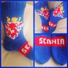 Wool Socks, Knitting Socks, Scandinavian, Photo And Video, Photos, Instagram, Fashion, Knit Socks, Moda