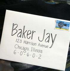 Another way to address envelopes