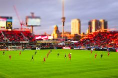 stadium-love-:  T(iny)FC by DdotG Photo taken at BMO Field: Home of Toronto FC