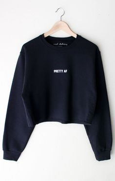 Check Yourself Cropped Sweatshirt | Sweater shirt and Printing