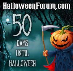 Less than 50 Days Until Halloween!