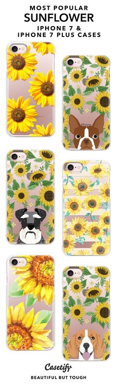 BE YOUR OWN KIND OF BEAUTIFUL | Most Popular iPhone 7 Cases and iPhone 7 Plus Cases for Sunflowers Lovers. For more Floral Cases, shop them here ☝☝☝ BEAUTIFUL BUT TOUGH ✨ - Flower, Rose, Summer, Peonies, Sun, Design, Fashion, Wedding, DIY, Garden, Fun