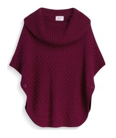STITCHFIX STYLIST!! LOOK!!! THIS!! I NEED THIS IN MY LIFE!!! Any color will do, PLEASE just make this happen!!  Moon Collection Bailee Cowl Neck Knit Poncho $58