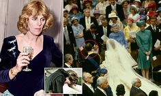 Author Penny Junor tells of Diana's paranoia and tantrums over the relationship between Charles and Camilla (pictured wearing a bracelet given to her by the Prince before his wedding).