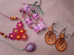 Bushbabies Craftworks : assorted paper jewellery
