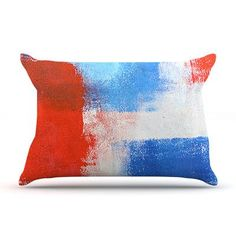 KESS InHouse The Colors by CarolLynn Tice Featherweight Pillow Sham Size: