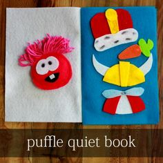 Club Penguin: Felt Puffle Quiet Book