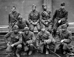 The 369th Infantry Regiment, nicknamed the Harlem Hellfighters, was a United States infantry regiment that saw action in World War I and World War II. It is known for being the first African-American regiment to serve with the American Expeditionary Force during World War I.