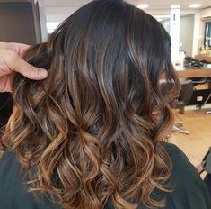 Hair Color Streaks, Hair Color Auburn, Auburn Hair, Hair Color For Black Hair, Hair Highlights, Dark Brunette Balayage Hair, Brown Blonde Hair, Baliage Hair, Hair Upstyles