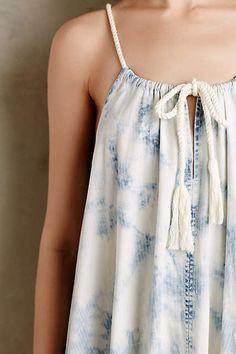 Chambray Swing Dress - anthropologie.com