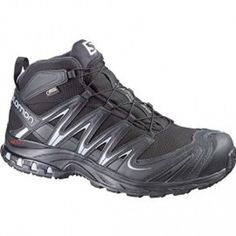 SALOMON Men s XA Pro Mid GTX outdoor hiking shoes feature a water resistant  textile upper. 89ec94bf7e