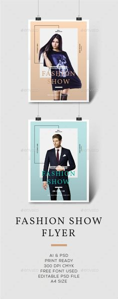 Fashion Flyer — Photoshop PSD #vertical #party • Available here → https://graphicriver.net/item/fashion-flyer/16287875?ref=pxcr