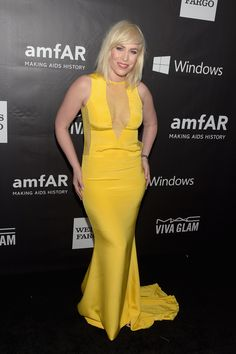 Natasha Bedingfield at amFAR's LA Gala