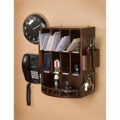 wall phone organizer