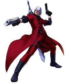 Character design - Dante - Characters & Art - Project X Zone