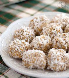 No Bake Orange Snowball Cookies