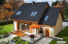 Projekty domów ARCHIPELAG - E3 G1 ECONOMIC (wersja A)