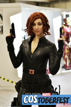 Costoberfest 2015: Flavia as Black Widow