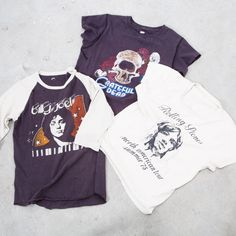 Did you fall in vintage tee love like we did? Good news, MORE of our fave styles by MadeWorn JUST arrived in all new rock & roll graphics. Keep your eyes out for a blogpost coming soon!