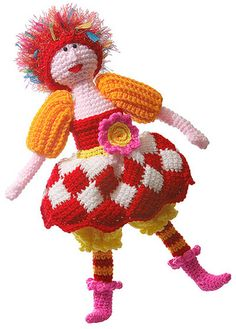 Gwendolyn Crocheted Doll ~ Ravelry
