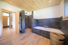 Bungalow, Corner Bathtub, Around The Worlds, House, Instagram, New Construction, Architecture, Home, Homes